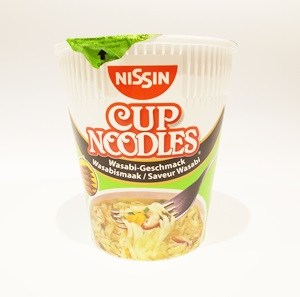 Nissin Cup Noodle Wasabi